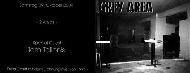 10 years grey area flyer